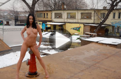 smoking hot babe naked